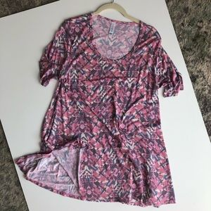 Pink Lularoe Perfect Tee